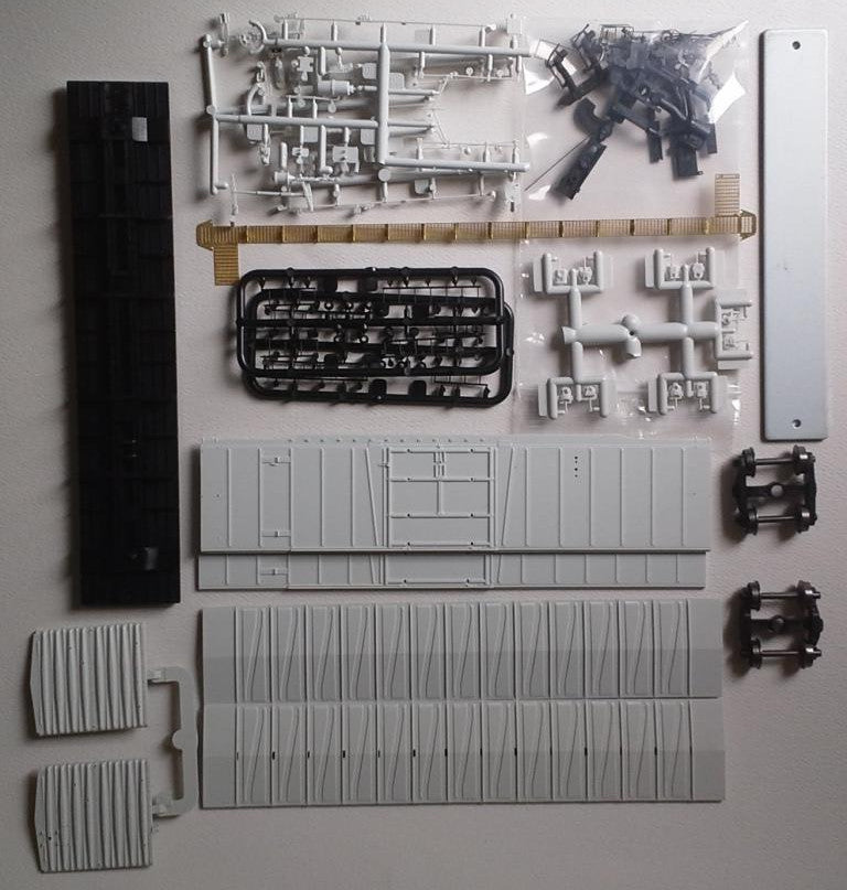 "22000-00 ATSF Topeka built Bx-97 50' XMLI 10'0"" Offset Door UNDEC KIT"