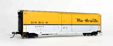 "12002 D&RGW delivery, GA 50' RBL Sill 2/ 10'0"" Centre Door"