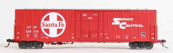"22002  ATSF Topeka built Bx-97 50' XLI 10'0"" Offset Door, Post-'81 scheme"