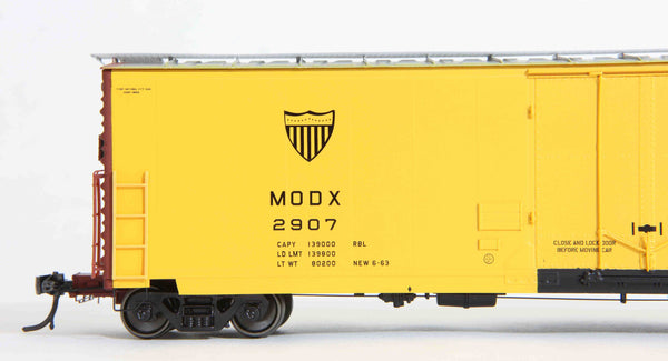 "13004 MODX delivery, GA 50' RBL Sill 1/ 10'6"" Offset Door/ Narrow Rods"