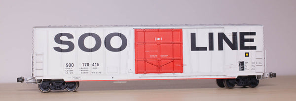 "22000-SOO North Fond du Lac 50' RBL 10'0"" Offset Door UNDEC KIT"