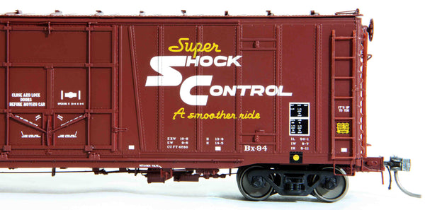 "21099 ATSF Topeka built Bx-94 50' XLI 10'0"" Offset Door, Mineral Brown TS. 4 78"