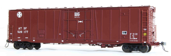 "21089 ATSF Topeka built Bx-94 50' XLI 10'0"" Offset Door, 24"" Circle-Cross '89"