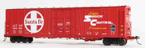 "22003  Factory Seconds ATSF Topeka built Bx-97 50' XLI 10'0"" Offset Door, Repaint TS. 5 78"
