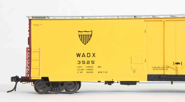 "13005 WADX delivery, GA 50' RBL Sill 1/ 10'6"" Offset Door/ Narrow Rods"
