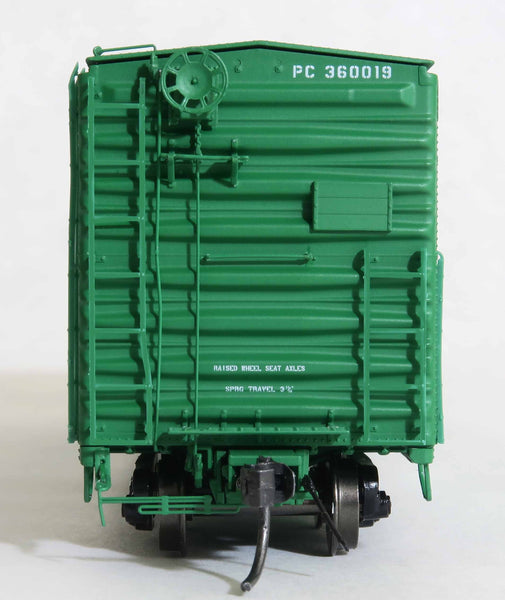 "13008 PC P62 11-73 repaint, GA 50' RBL Sill 1/ 10'6"" Offset Door/ Narrow Rods"