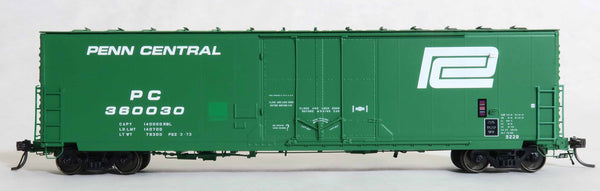 "13018 PC P62 3-73 repaint, GA 50' RBL Sill 1/ 10'6"" Offset Door/ Narrow Rods"