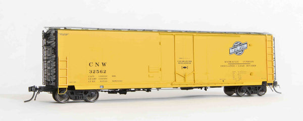 "13001 CNW delivery, GA 50' RBL Sill 1/ 10'6"" Offset Door/ Narrow Rods"