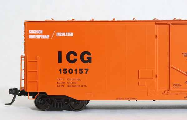 "12033 ICG repaint MC.11.78, GA 50' RBL Sill 2/ 10'0"" Centre Door"