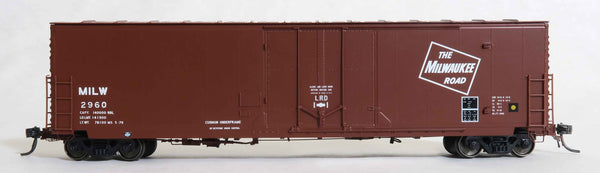 "13016 MILW MS. 5-79 repaint V1, GA 50' RBL Sill 1/ 10'6"" Offset Door/ Narrow Rods"