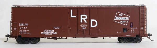 "13006 MILW 2977 MS. 1-72 repaint, GA 50' RBL Sill 1/ 10'6"" Offset Door/ Narrow Rods"