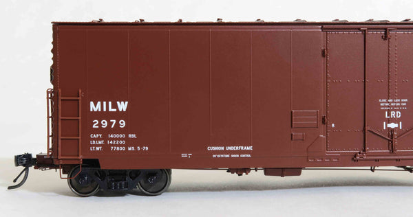 "13026 MILW 2979 MS. 5-79 repaint V2, GA 50' RBL Sill 1/ 10'6"" Offset Door/ Narrow Rods"