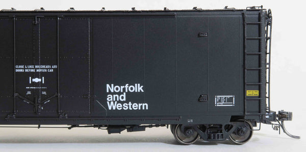 "13017 NW ex-WADX 2-82 repaint, GA 50' RBL Sill 1/ 10'6"" Offset Door/ Narrow Rods"