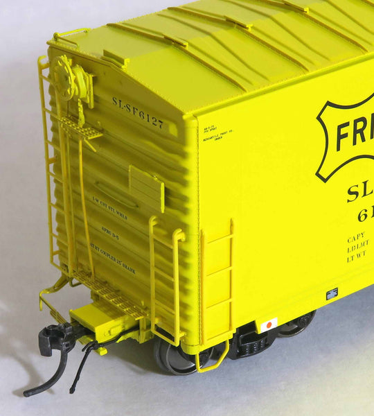 "13029 SLSF 6127 NEW 9-63 repaint SN 5-73, GA 50' RBL Sill 1/ 10'6"" Offset Door/ Narrow Rods"