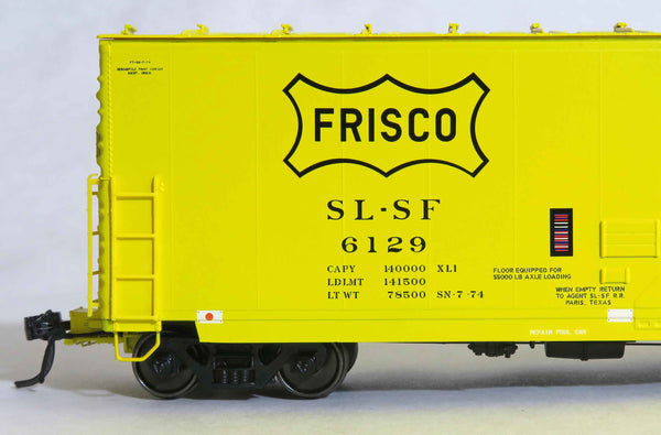 "13019 SLSF SN 7-74 repaint, GA 50' RBL Sill 1/ 10'6"" Offset Door/ Narrow Rods"
