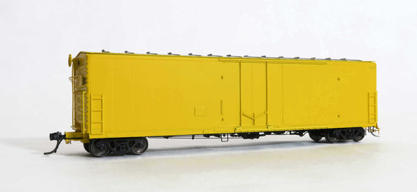 33200-Keystone All yellow, Assembled, FGE 50' RBL Plt B 7+7R 10 Ctr Door-door loop