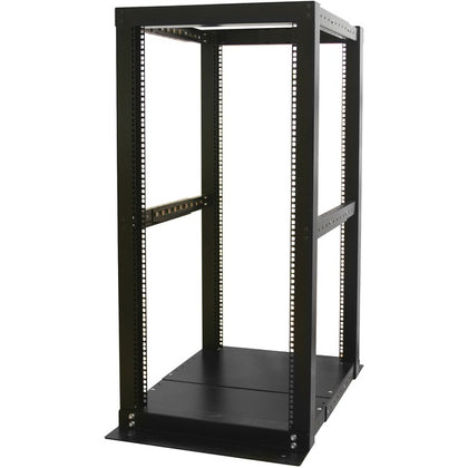 StarTech.com 25U Adjustable Depth 4 Post Open Frame Server Rack Cabinet