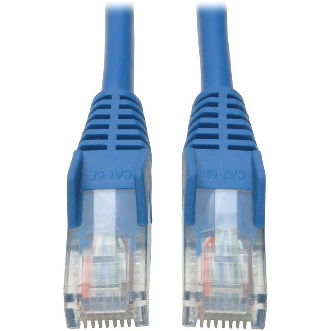 Tripp Lite 40ft Cat5e - Cat5 Snagless Molded Patch Cable RJ45 M-M Blue 40'
