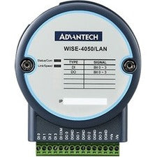 Advantech 4-channel Digital Input and 4-channel Digital Output IoT Ethernet I-O Module