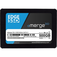 EDGE eMerge 3D-V 500 GB Solid State Drive - 2.5