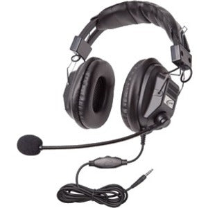 Califone Switchable Stereo-Mono Headset with To Go Plug