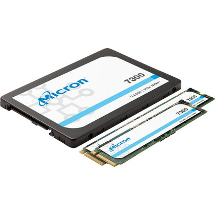 Micron 7300 7300 PRO 3.84 TB Solid State Drive - M.2 22110 Internal - PCI Express NVMe (PCI Express NVMe 3.1 x4) - Read Intensive - TAA Compliant