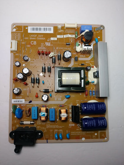 Samsung BN44-00666A (L40GF_DDY) Power Supply / LED Board