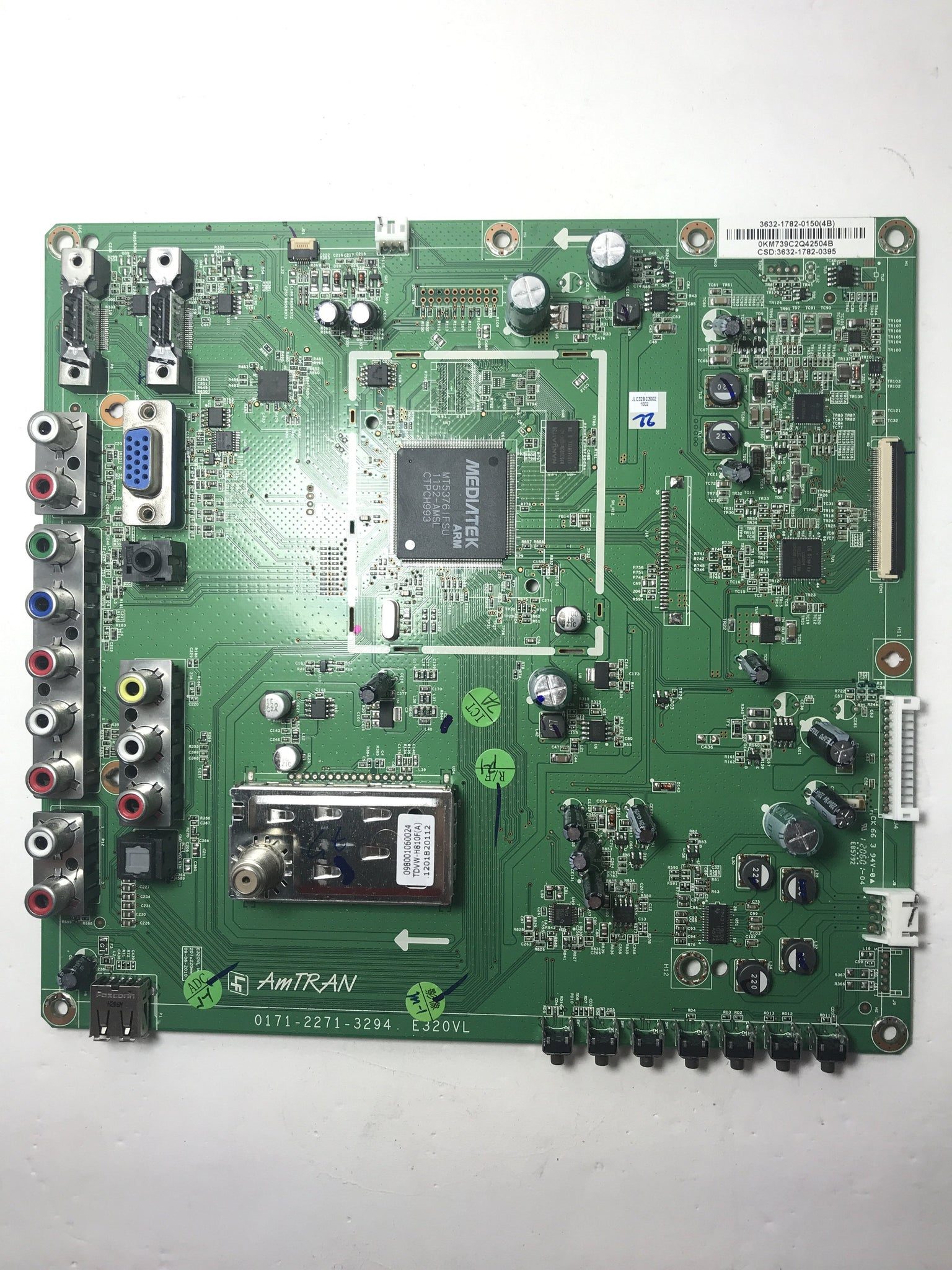 JVC 3632-1782-0150 (0171-2271-3294) Main Board for JLC32BC3002