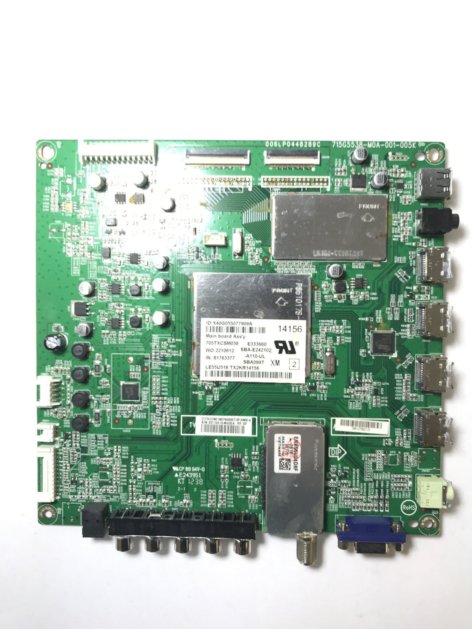 Hitachi CBPFTXCCB01K076 Main Board for LE55U516