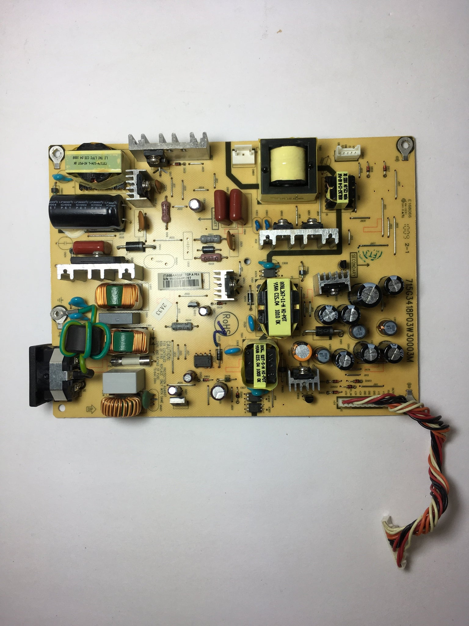 Vizio PWTV9G5AAQQ2 Power Supply for VA26LHDTV10T