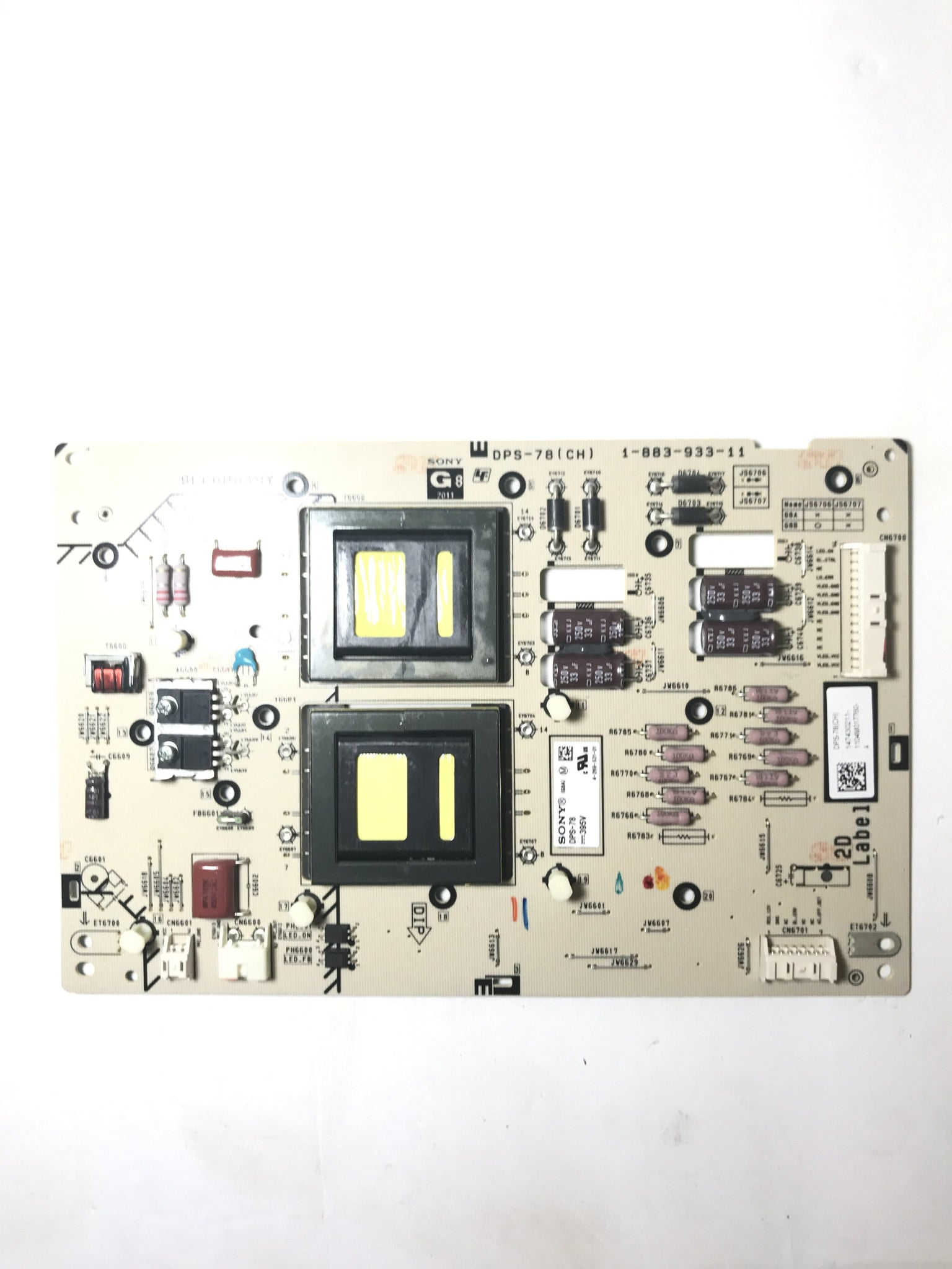 Sony 1-474-302-11 (DPS-78, 1-883-933-11) G8 Power Supply Board