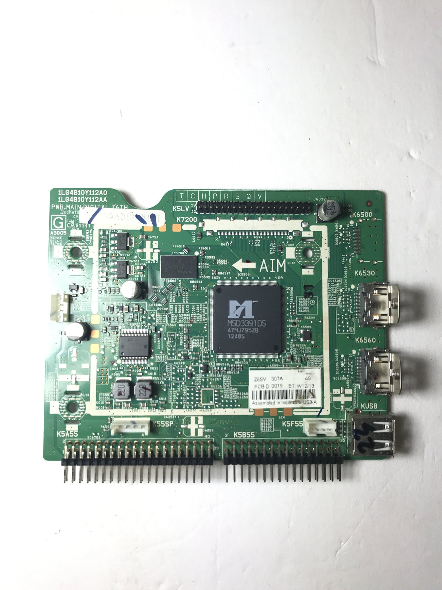 Sanyo 1LG4B10Y112A0 Z6SV Digital Main Board for DP39E63 P39E63-00