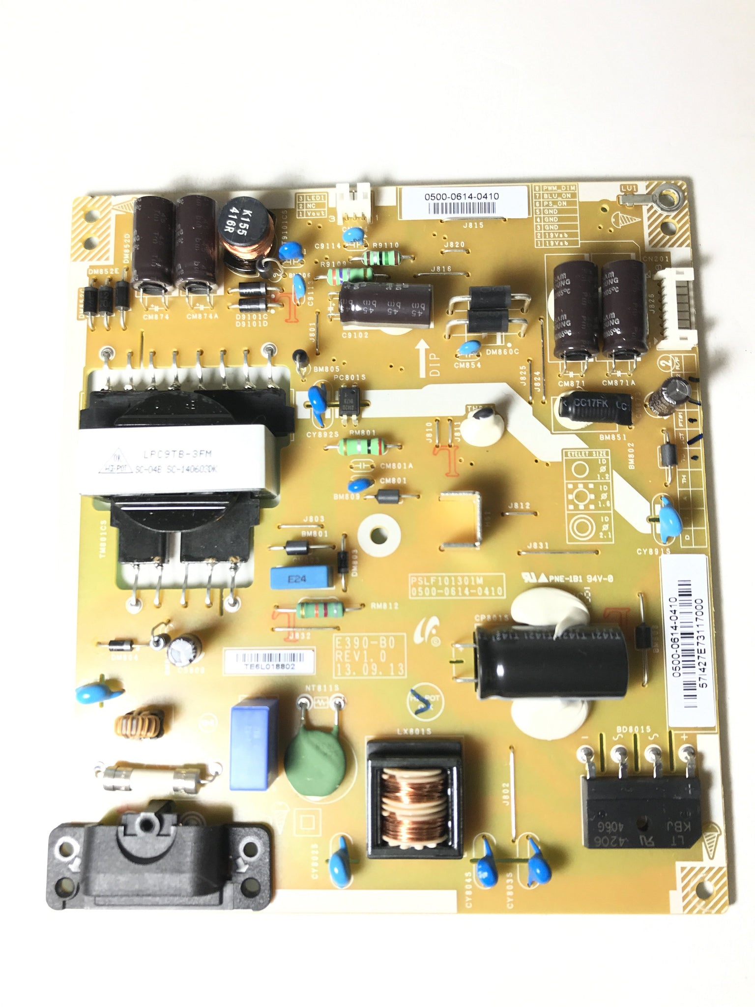 Vizio/JVC 0500-0614-0410 Power Supply / LED Board