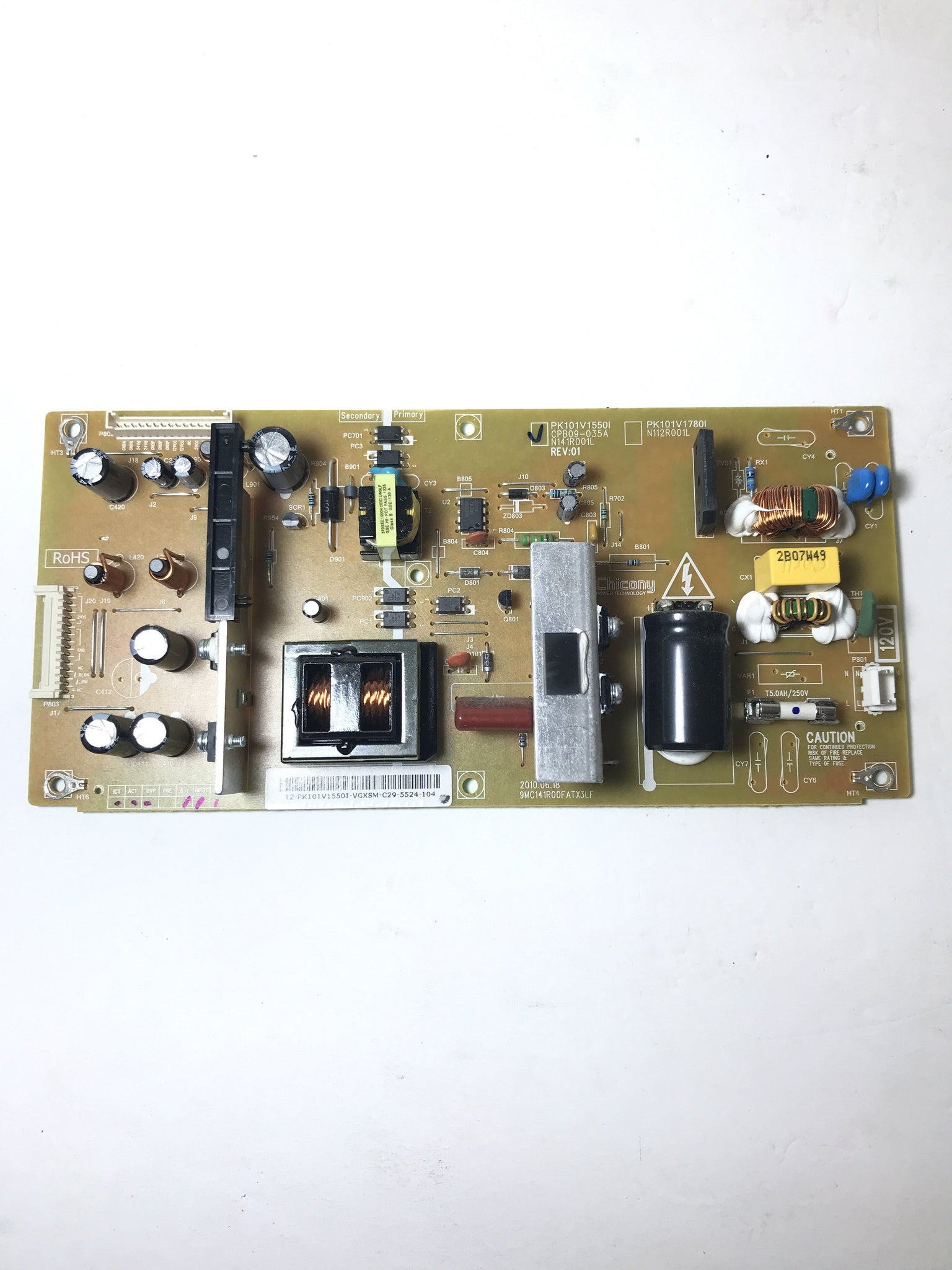 Toshiba PK101V1550I (CPB09-035A, N141R001L) Power Supply Unit