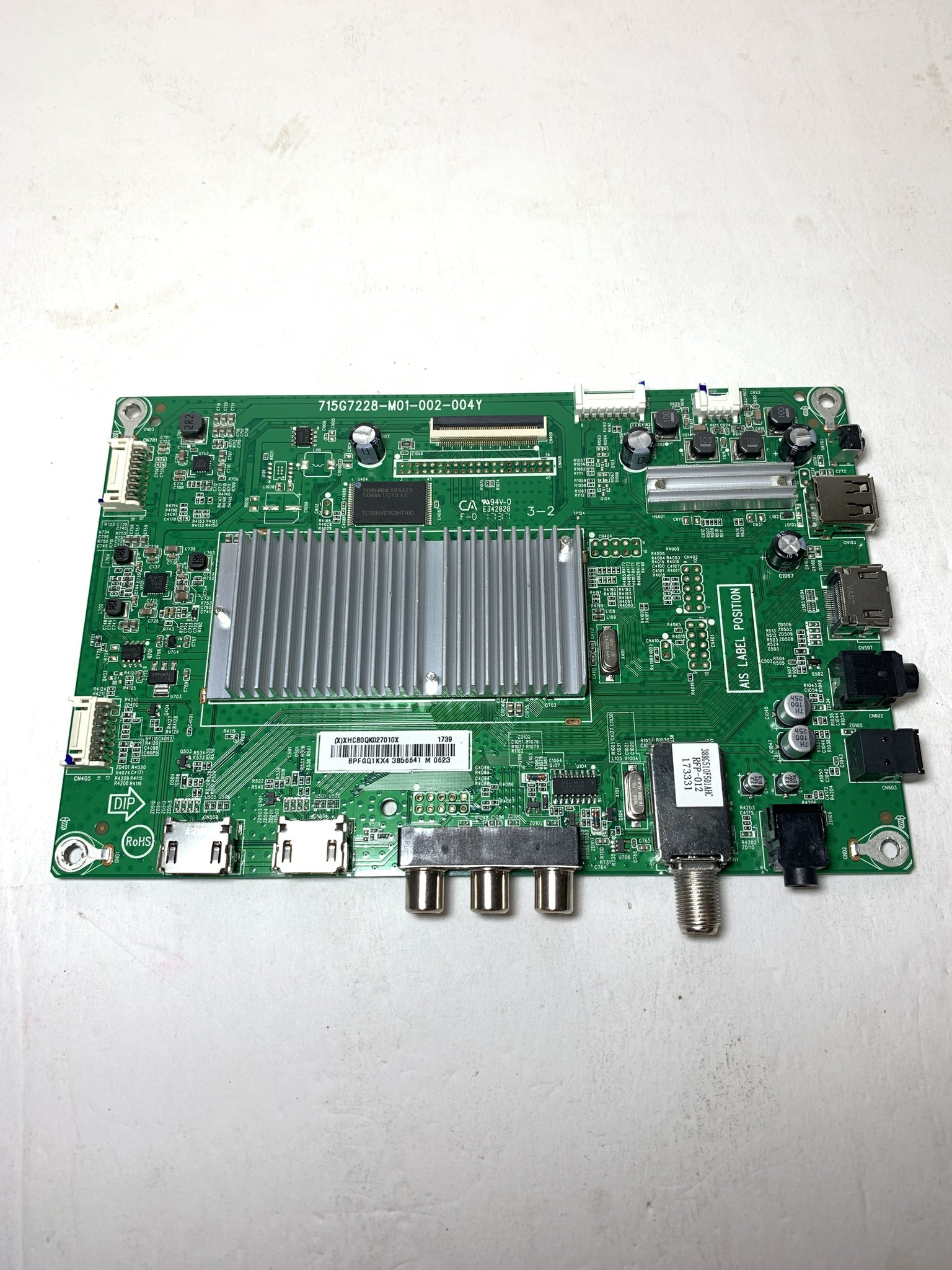 Insignia 756TXHCB0QK0270 Main Board for LC-43LB481U