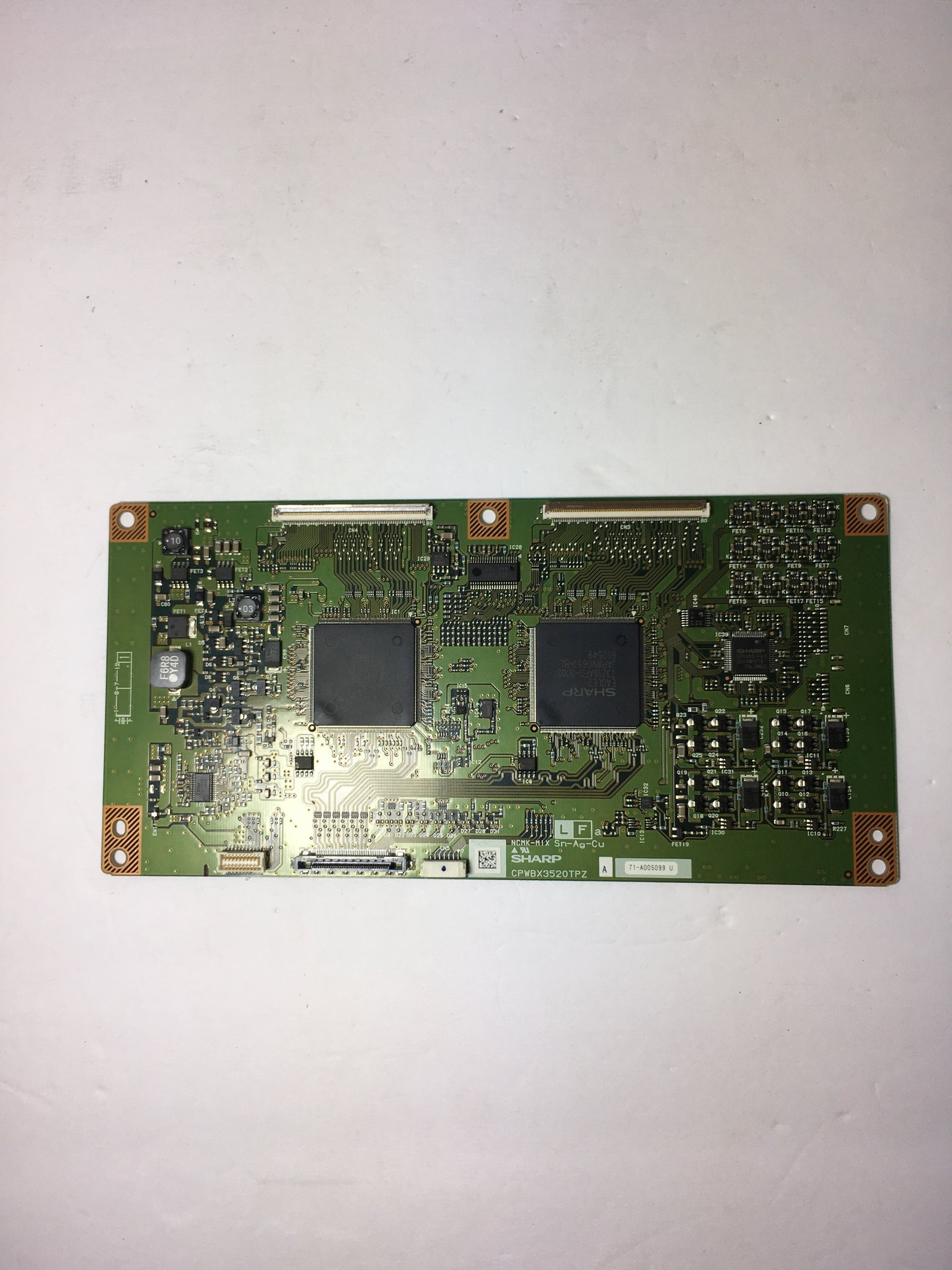 Sharp CPWBX3520TPZA T-Con Board for LC-46D62U LC-46XD1E