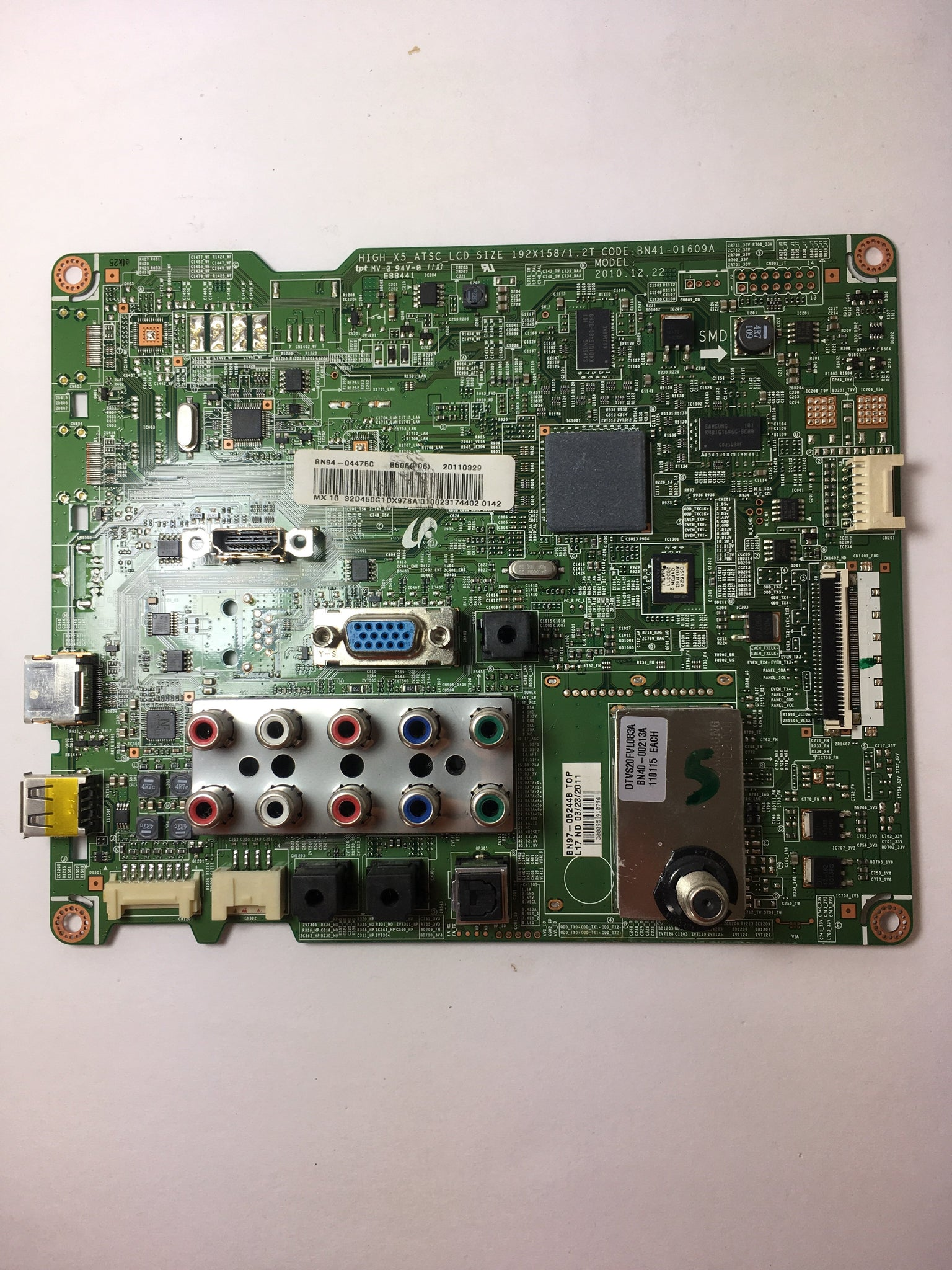 Samsung BN94-04475C Main Board for LN32D450G1DXZA