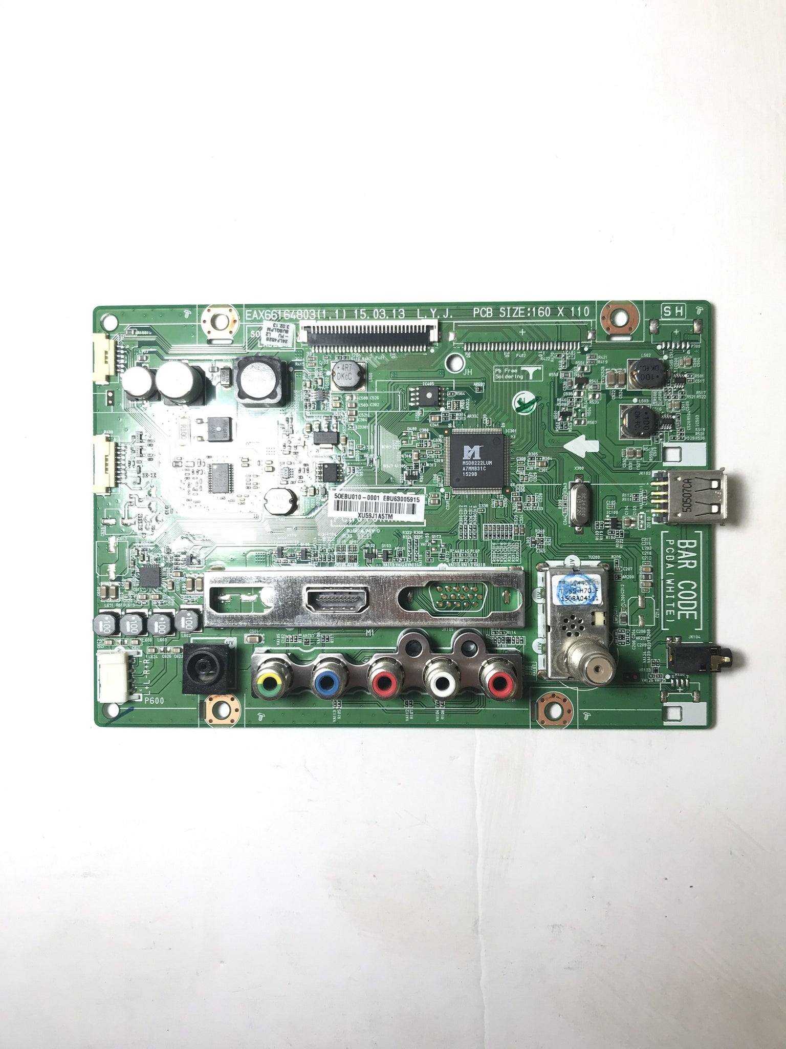 LG EBU63005915 Main BPR Board for 24LF452B-PU.BUSQLPM