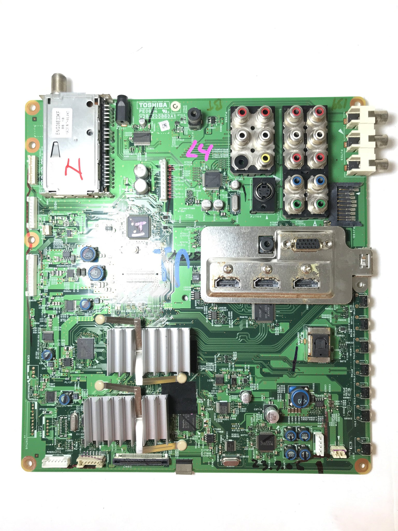 Toshiba 75013208 Main Board for 52RV535U