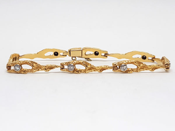 Diamond Tennis Bracelet 0.40ct.