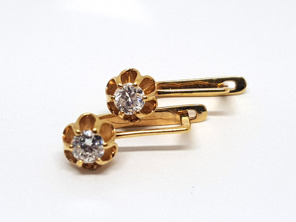 Diamond Earrings 0.70ct.