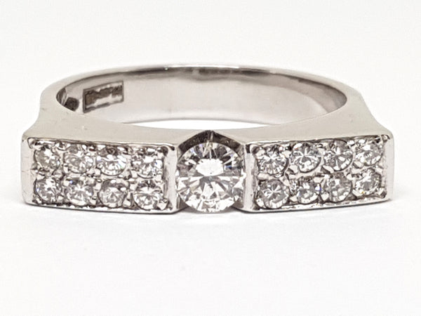 Diamond Memory Ring 0.82ct.