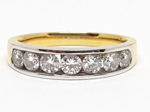 Diamond Memory Ring 1.20ct.