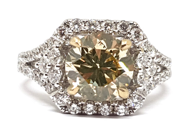 Diamond Engagement Ring 2.80ct.