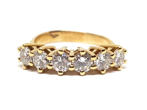 Diamond Memory Ring 2.10ct.