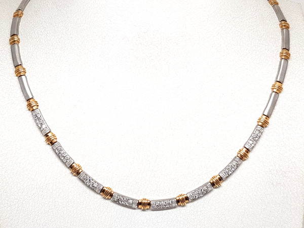 Diamond Necklace 2.56ct.