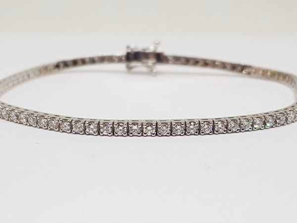 Diamond Tennis Bracelet 3.55ct.