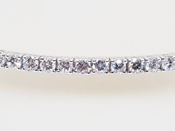 Diamond Tennis Bracelet 5.31ct.