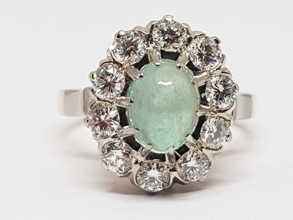 Diamond Emerald Ring