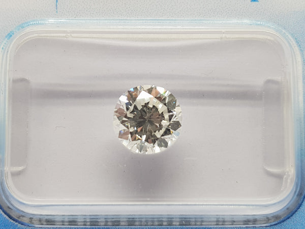 HRD Certified Round Diamond 1.29 G VS2